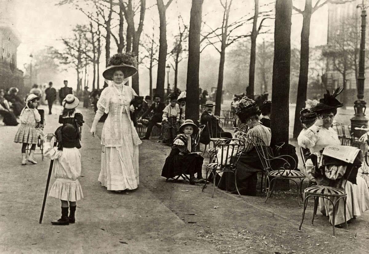 1910-е. Елисейские поля