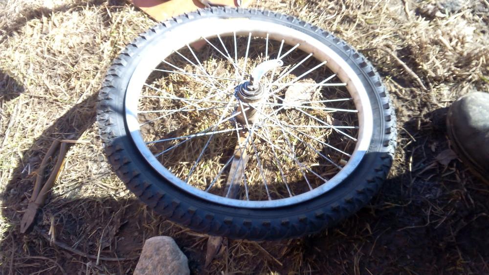 Колесо для велосипеда 20 дюймов