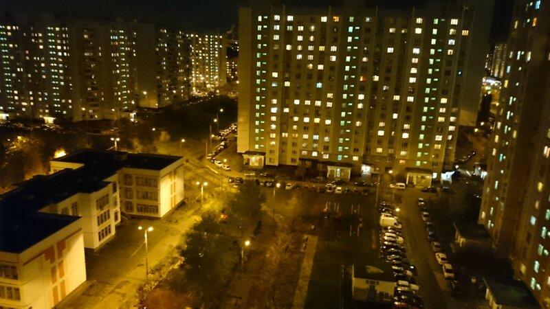 Москва, спальный район