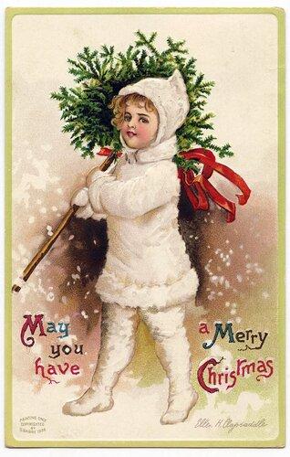 Винтажные рождественские подвески для елки