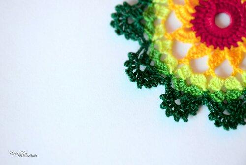 вязаная салфетка, салфетка крючком, маленькая салфетка крючком, разноцветная салфетка, свадебные аксессуары, весенняя свадьба, весная, свадьба, roventa-handmade, wedding, spring, wedding Accessories, doily, crochet doily
