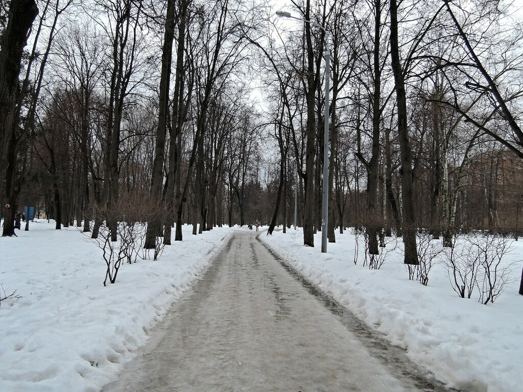Парк возле к/т Ленинград