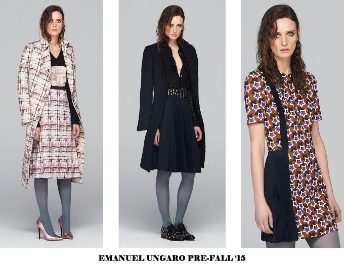 EMANUEL UNGARO PRE-FALL 2015 9