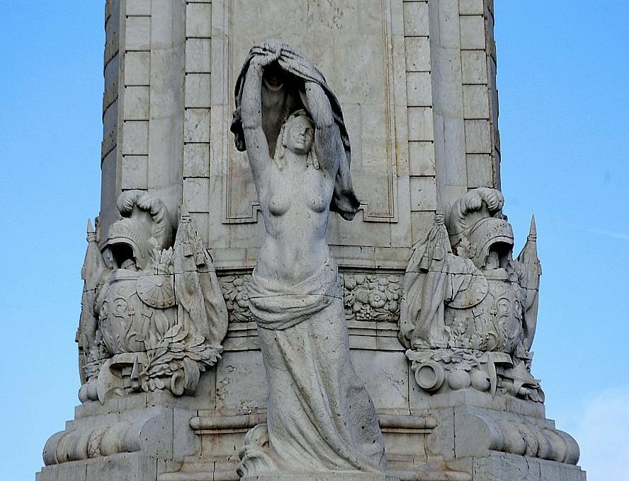 Lisbon. Monument to the Marquis Of Pombal (Monumento ao Marquês de Pombal)