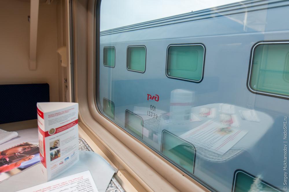 Двухэтажный поезд фото внутри ржд