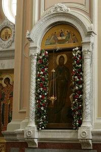 3. Древняя чудотворная икона св. Пророка, Предтечи и Крестителя Господня Иоанна в соборе монастыря (середина XVI века)