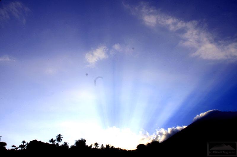 Закат над Киматубу