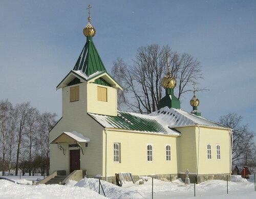 Храм Святой Троицы пос. Тискады