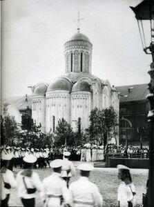 Освящение Церкви Христа Спасителя (Спас на водах). Июль 1911