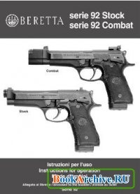 Beretta Serie 92  Instructions for operation.