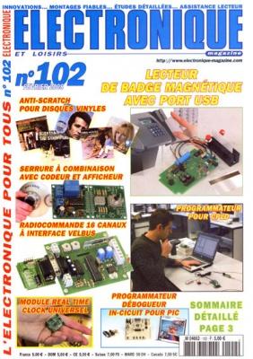 Журнал Журнал Electronique et Loisirs №102 (2008)