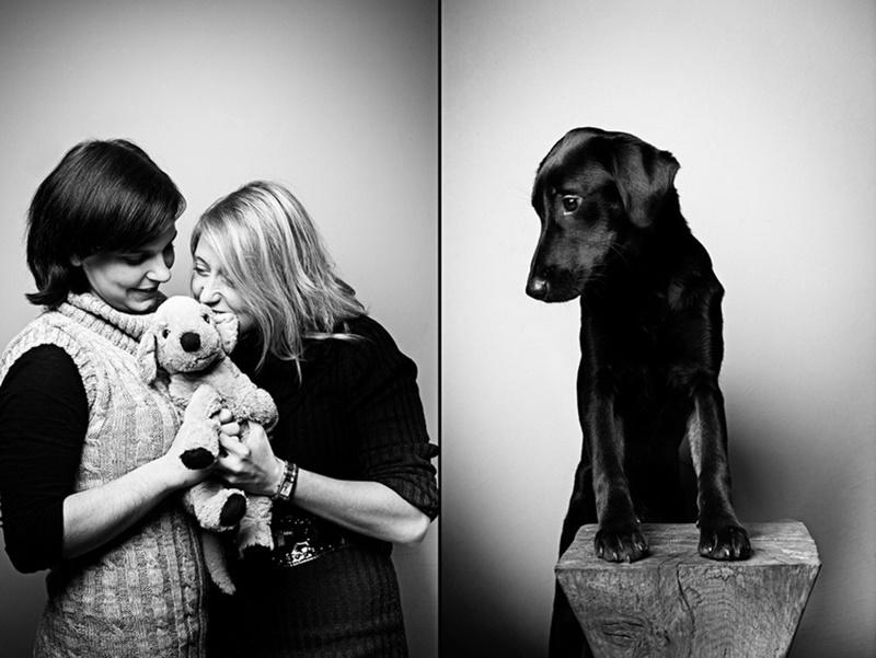 Кто кого приручил: портреты домашних животных и их хозяев