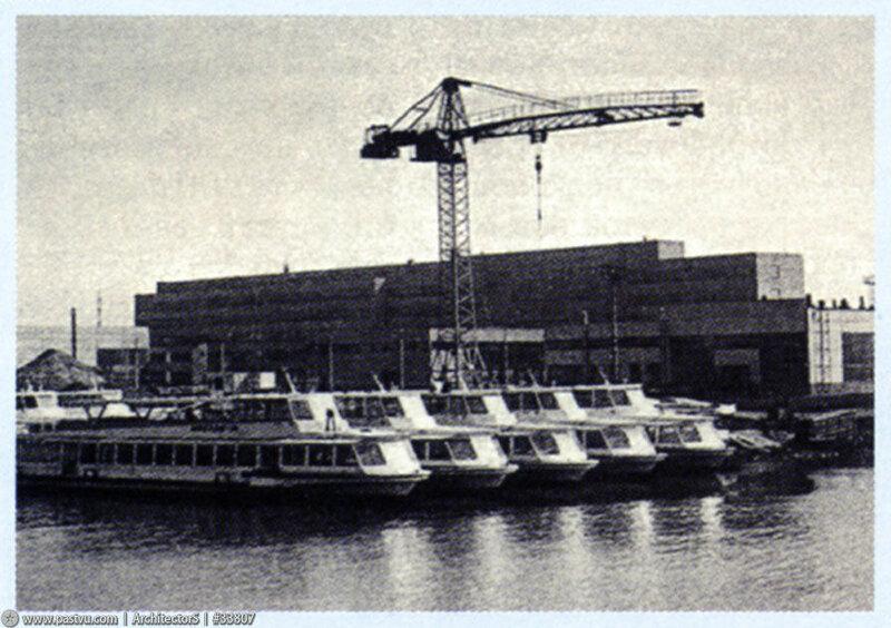 Нагатинский затон. Москва. 1970 1974...jpg