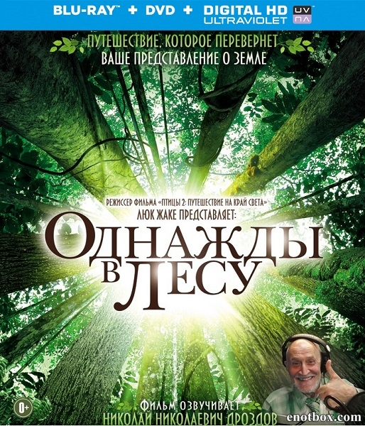 Однажды в лесу / Once Upon a Forest / Il était une forêt (2013/BDRip/HDRip)
