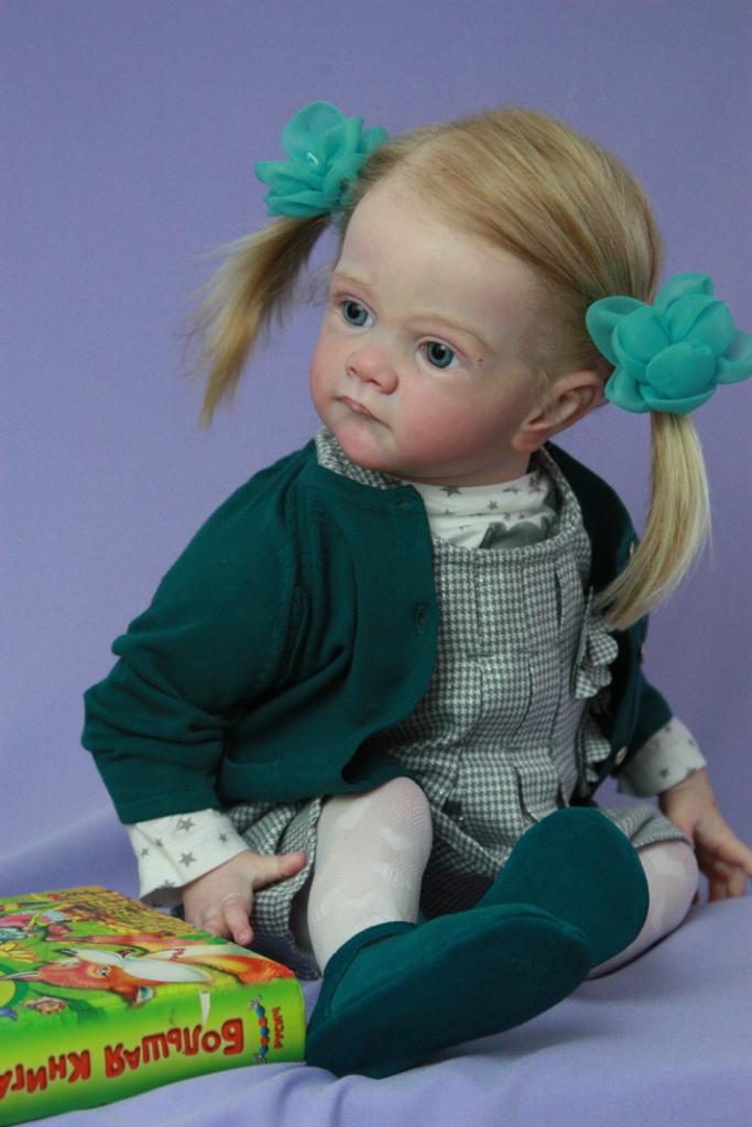 Toddler Reborn Baby Girl Limited Sold Out Frida By Karola