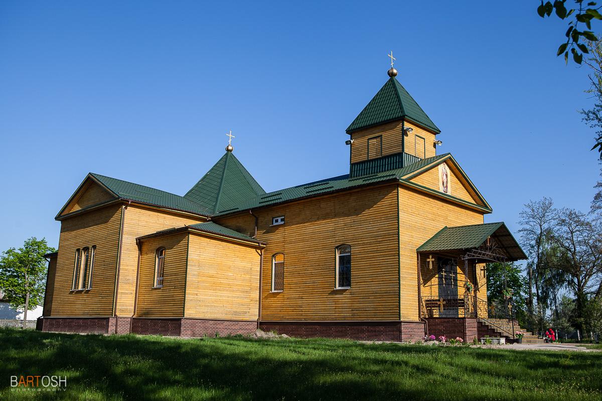 Церковь в селе Моровск, Черниговская оласть