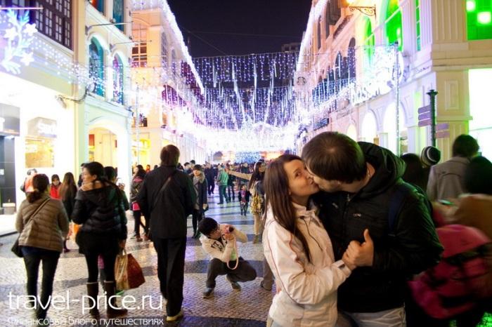 католическое Рождество в Макао
