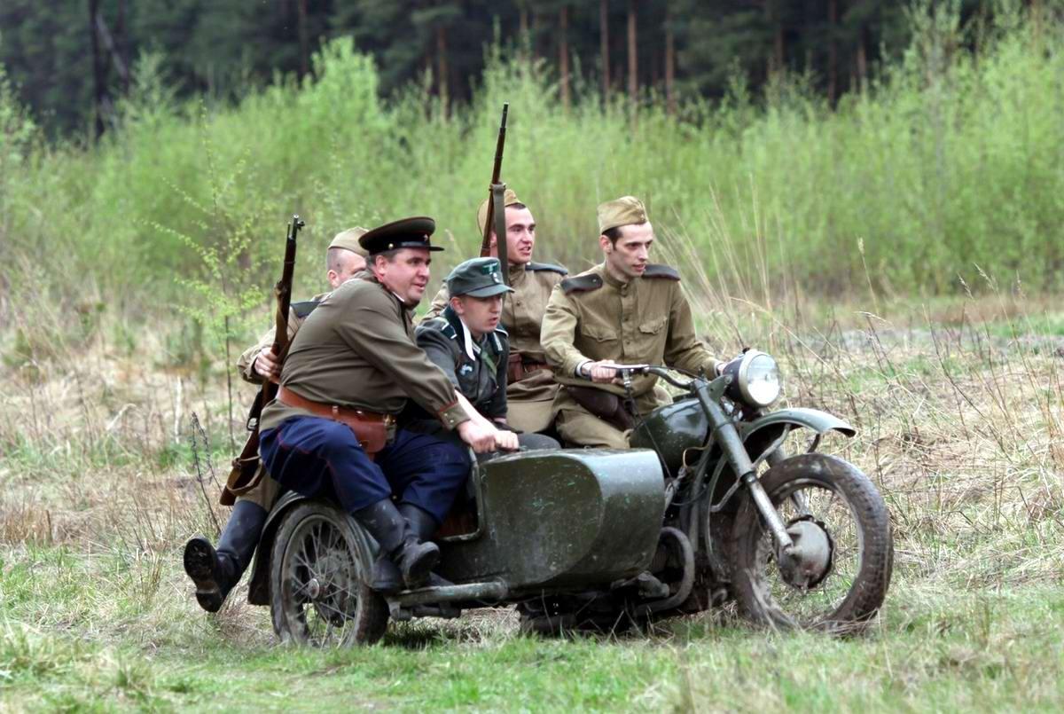 Забавные моменты из жизни военных реконструкторов (70)