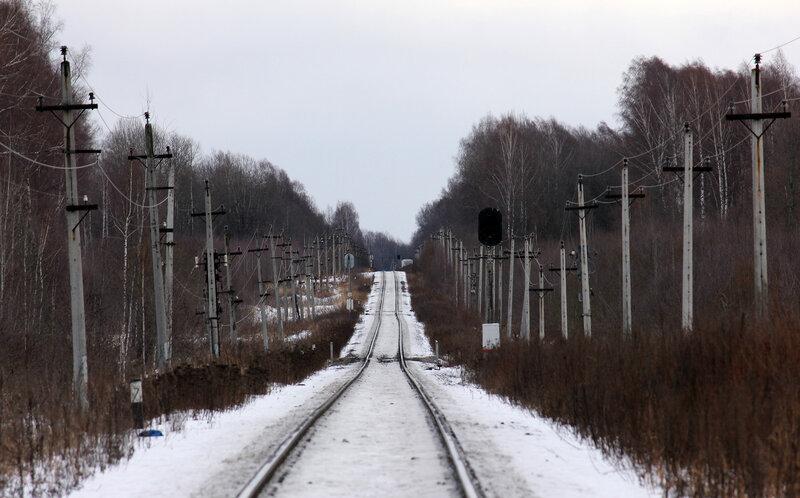 Перегон Ржев-Балтийский - Аристово