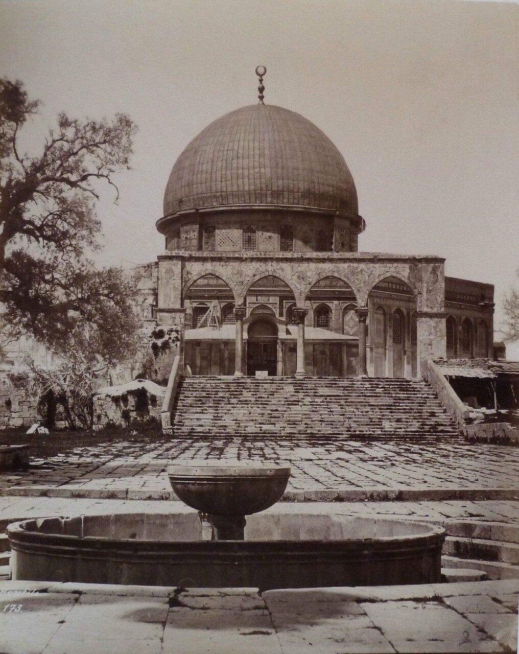 Иерусалим. Мечеть Омара. 1882.