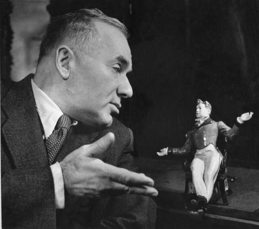 1950. Артист Игорь Ильинский