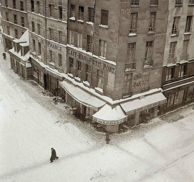 1954. Зима
