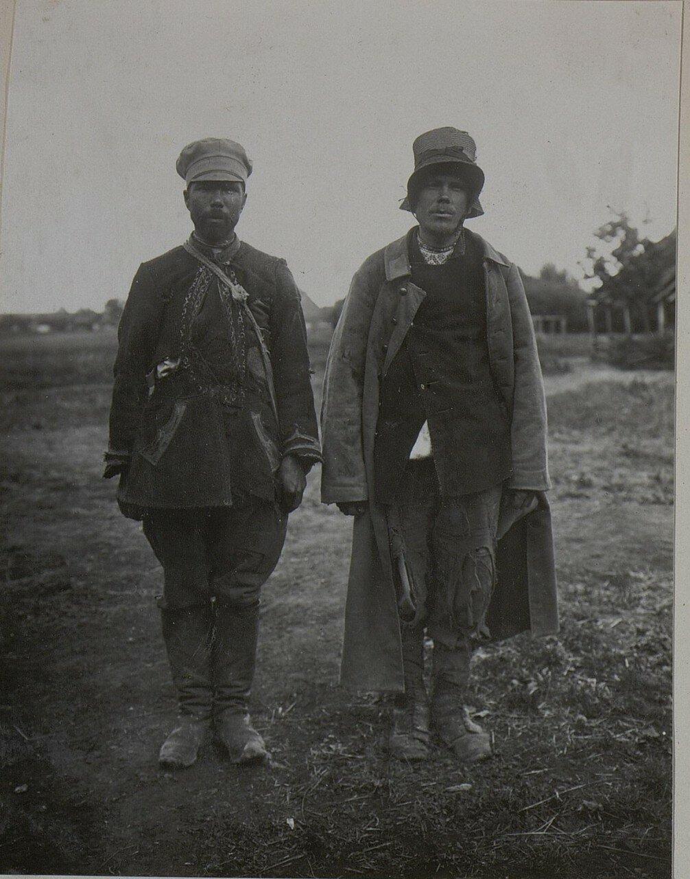 Два сбежавших русских военнопленных