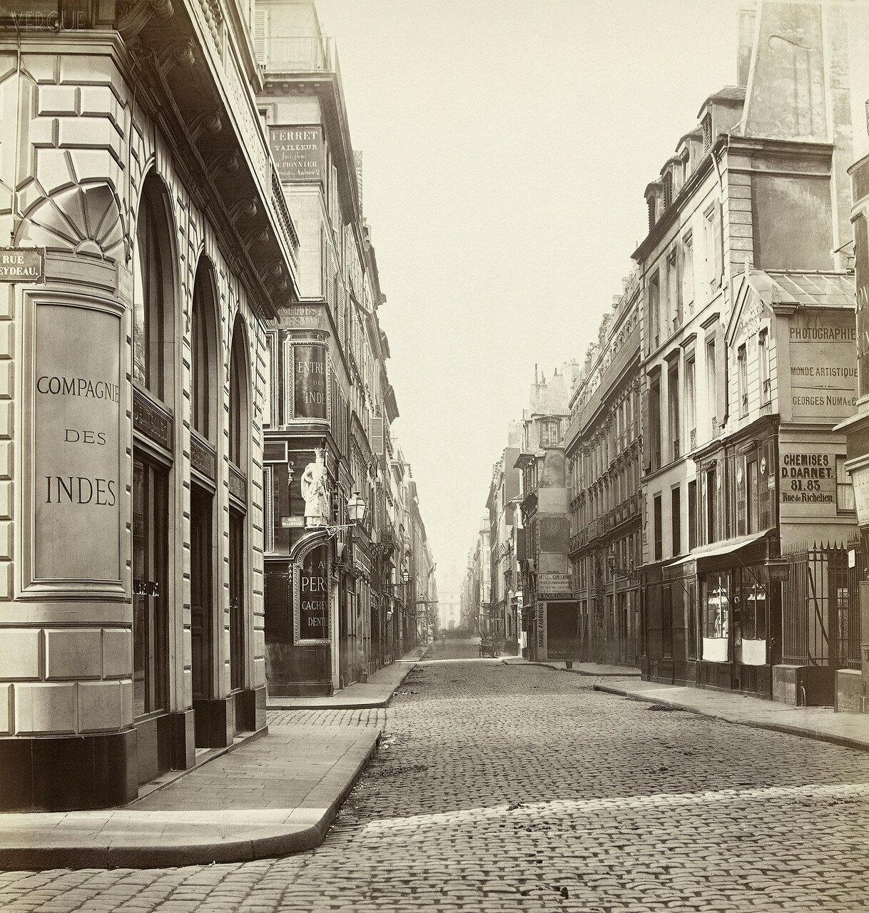 Рю де Ришелье. 1866