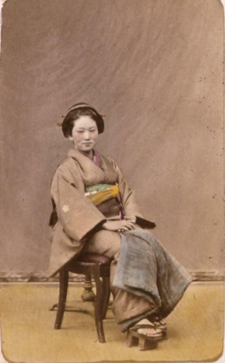 Девушка в свадебном наряде.1863