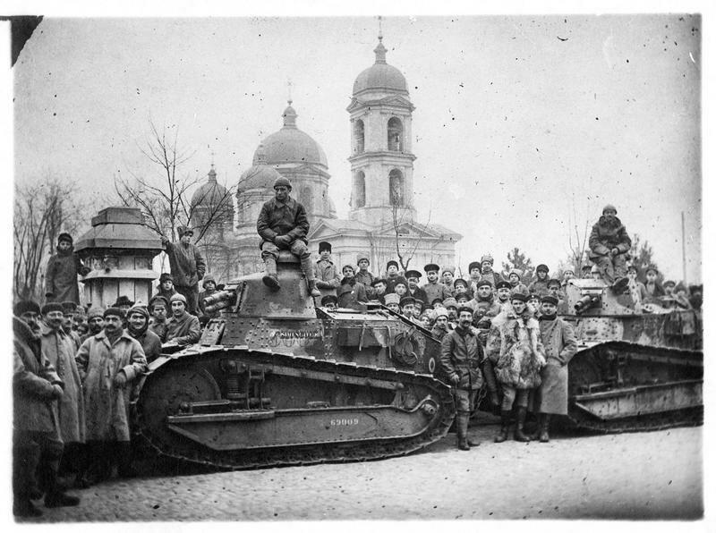 1919. Одесса. Французские танки