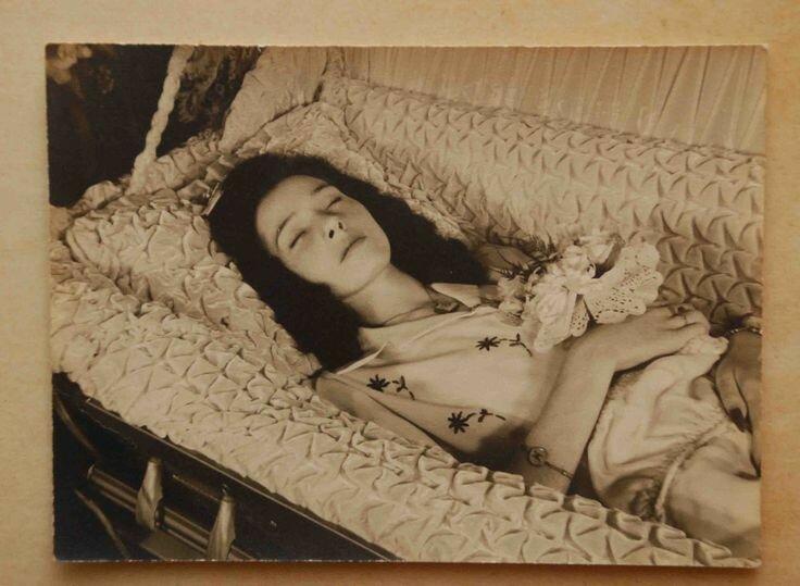 1942. Виолетта Ирен Мичалак. Огайо. Возраст 17 лет