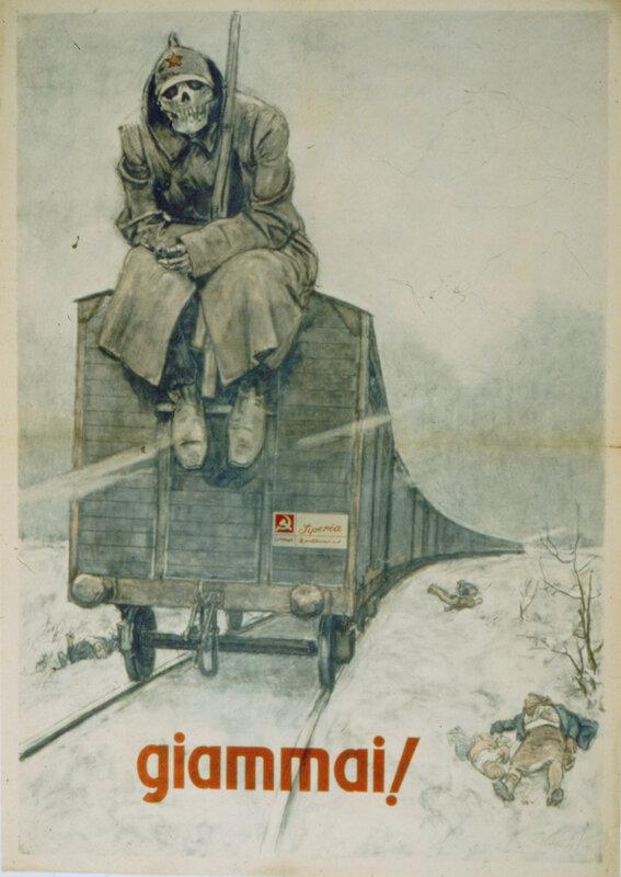 военные плакаты, большевики, антикоммунизм