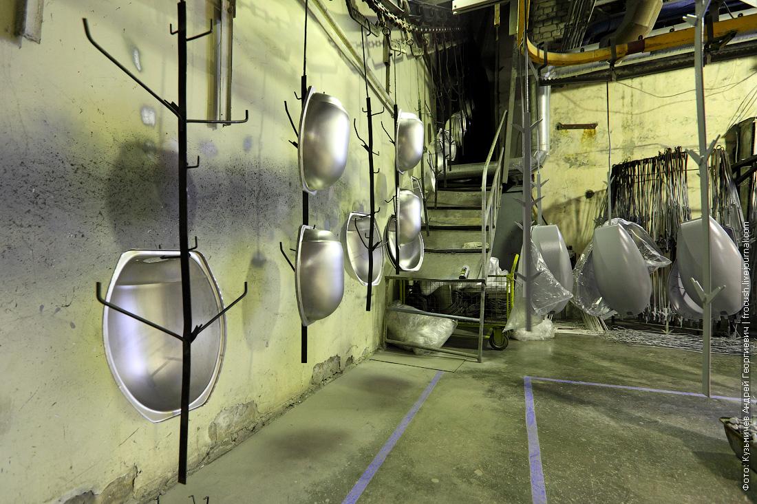 завод светильников для улиц Москвы