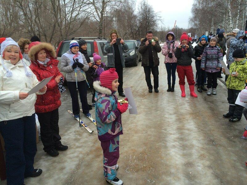 2-е место на Строгинской лыжне, 17.01.2015