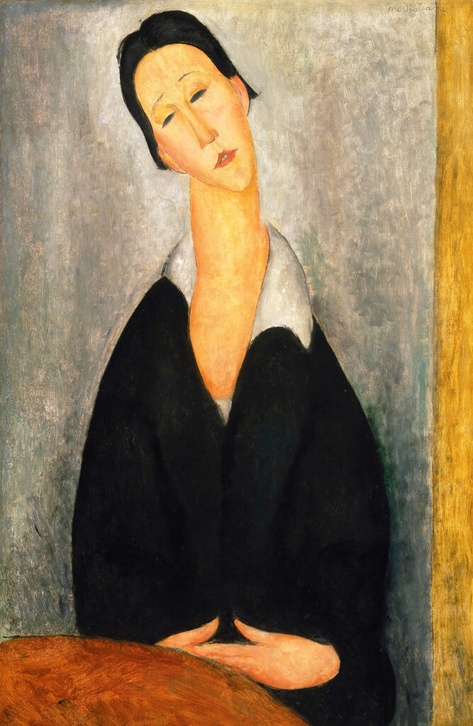 Portrait of a Polish Woman - PC - Painting - oil on canvas.jpeg