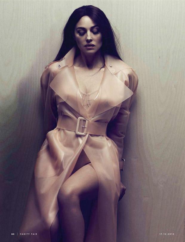 Моника Беллуччи (Monica Bellucci) в журнале Vanity Fair Italia (5 фото)