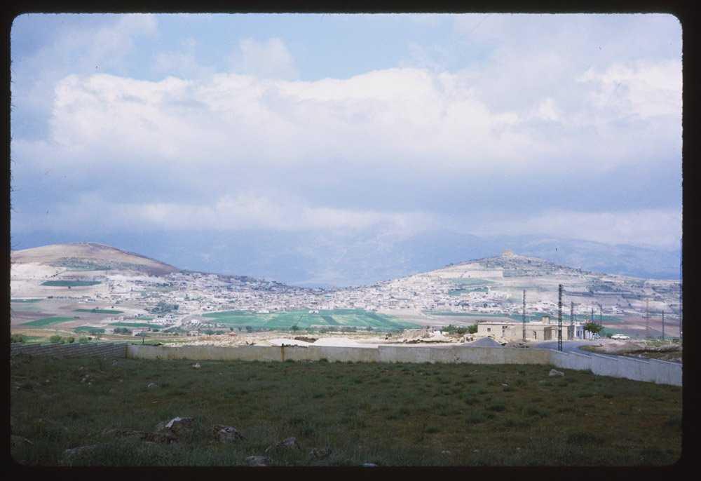 Сельскохозяйственный участок под Дамаском.