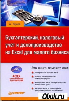 Книга Бухгалтерский, налоговый учет и делопроизводство на Excel для малого бизнеса