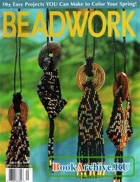 Книга Beadwork Apr-May 2001.