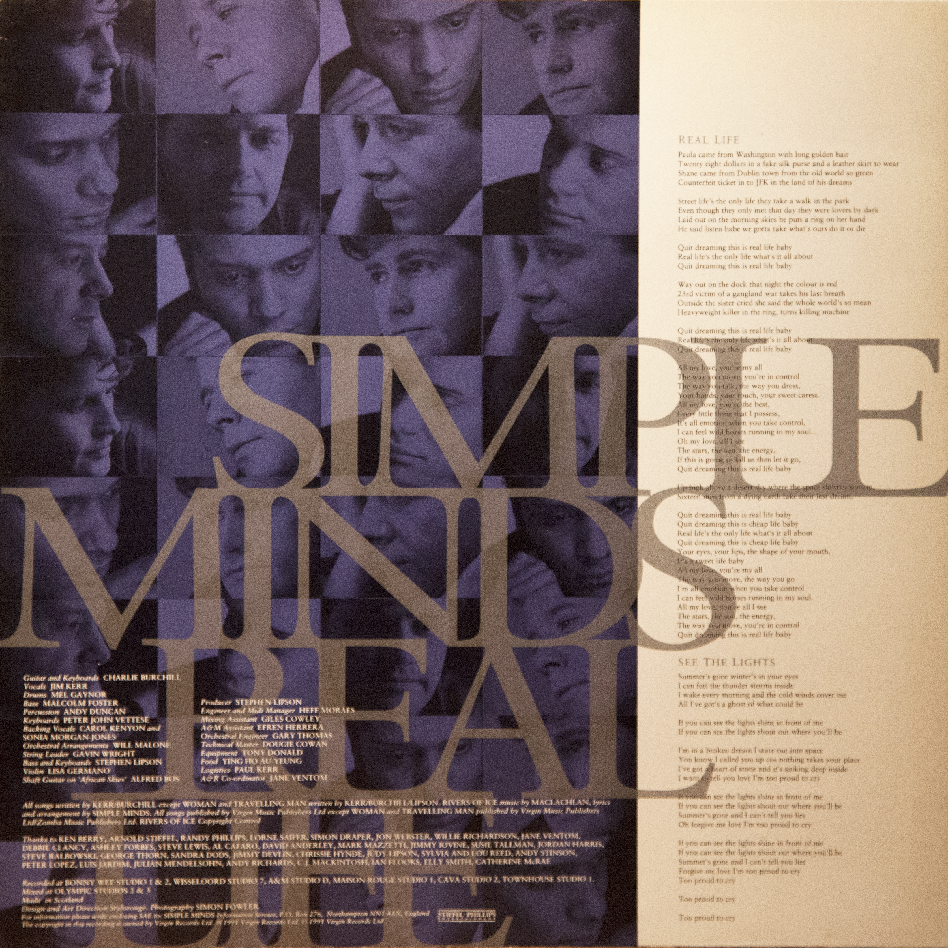 32/192] Simple Minds - Real Life - 1991 [lossless] - Âñå Òóò Online