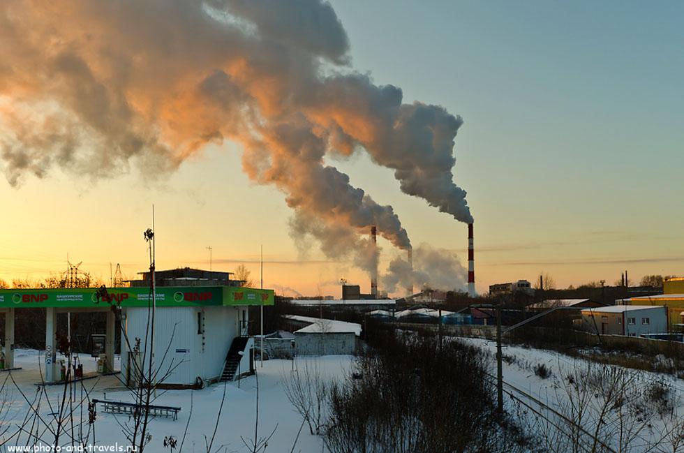 Екатеринбург на закате