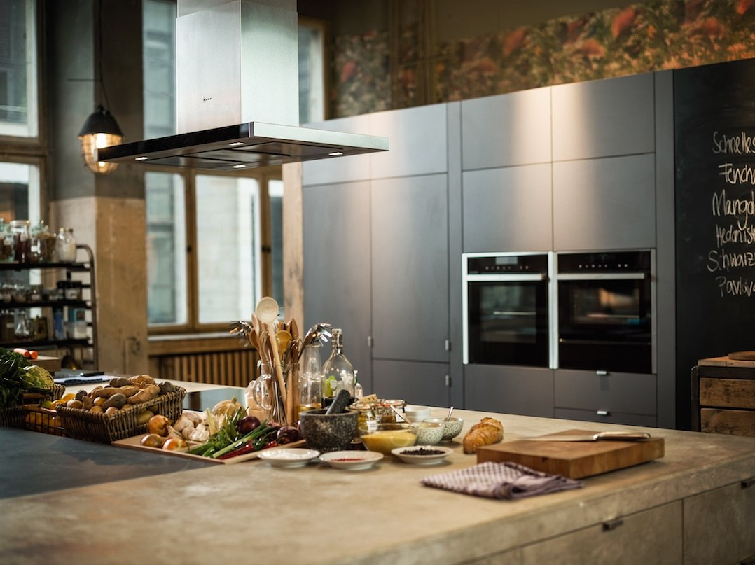 Neff MegaCollection 2015 встраиваемая техника кухни Германия