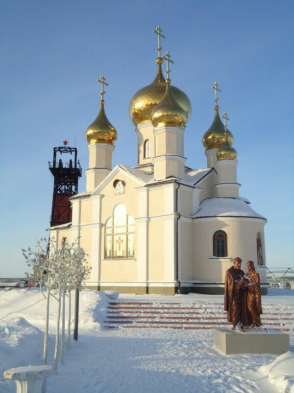 г. Ленинск-Кузнецкий. Храм-часовня в честь преподобного Сергия Радонежского
