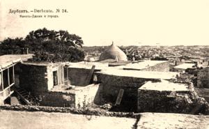Мечеть Джома и город