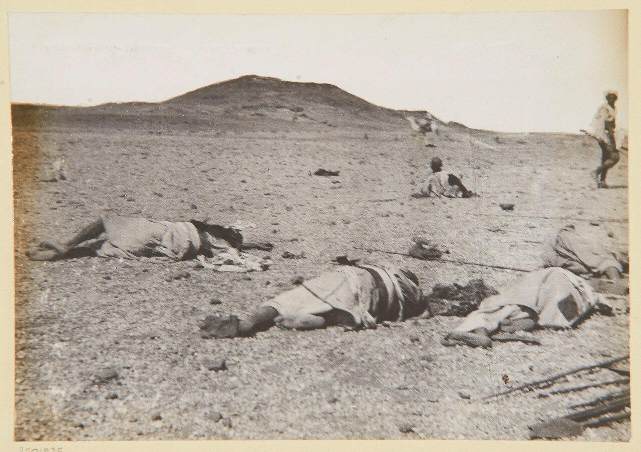 2 сентября, в 8:30 утра. 600 ярдов от зерибы (укрепленного лагеря)