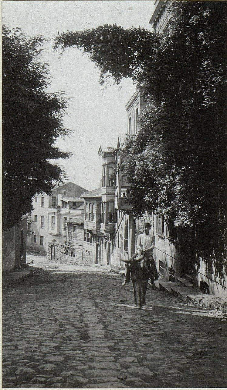 Strasse in Stambul.