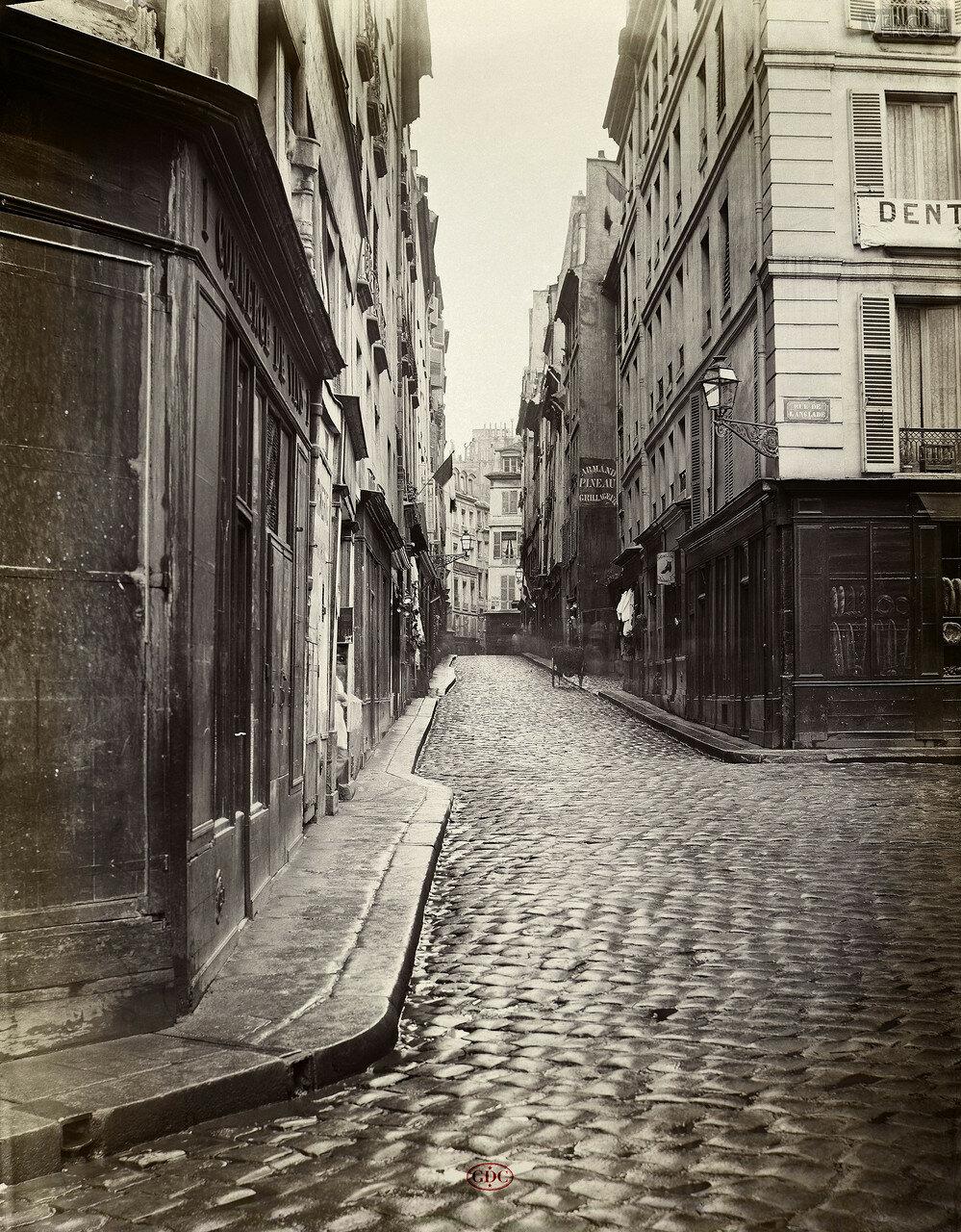 Рю л'Эвек. 1866