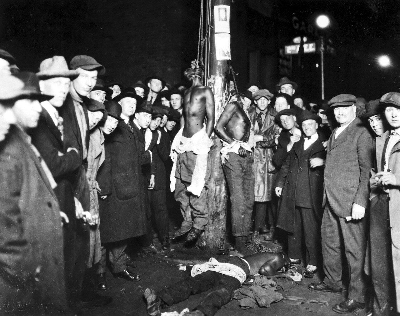 1920. Линчевание в Алабаме