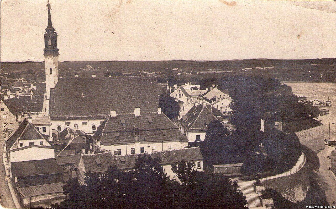Вид с башни Германа