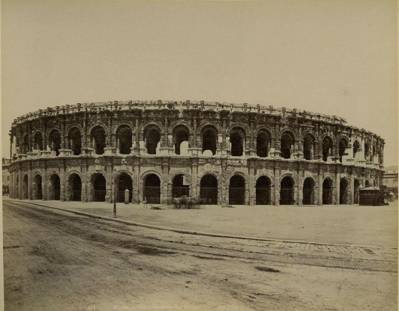 Амфитеатр. Внешний вид.  1880-е